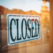 Restaurants und Raststellen schließen
