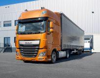 DAF Lasterproduktion bleibt in Europa